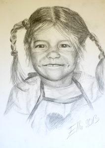 Portree (grafiit, 2013)