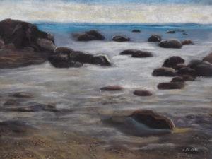 """""""Meri"""" (kuivpastellid, 2015)"""