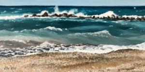 "õlimaal ""Altea rand"" (60x30, 2018)"