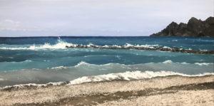 """õlimaal """"Altea rannas"""" (80x40; 2019)"""